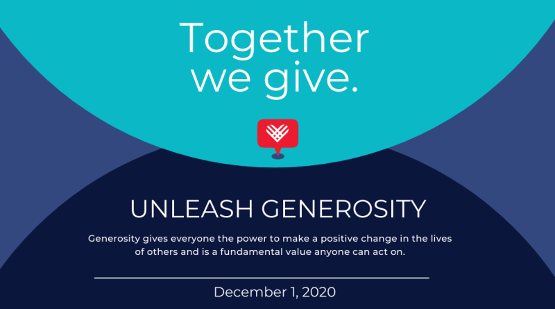 #GivingTuesday is December 1st