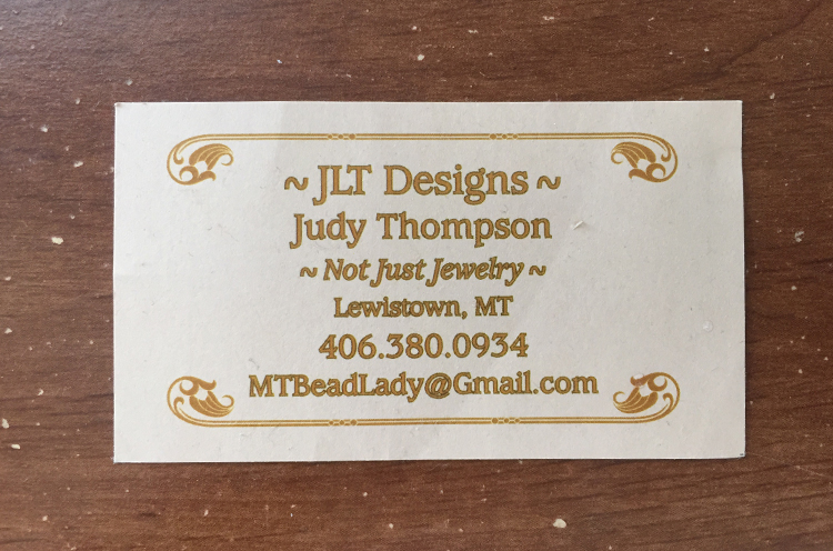 Old Business Card design