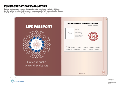 Evaluators' life passport
