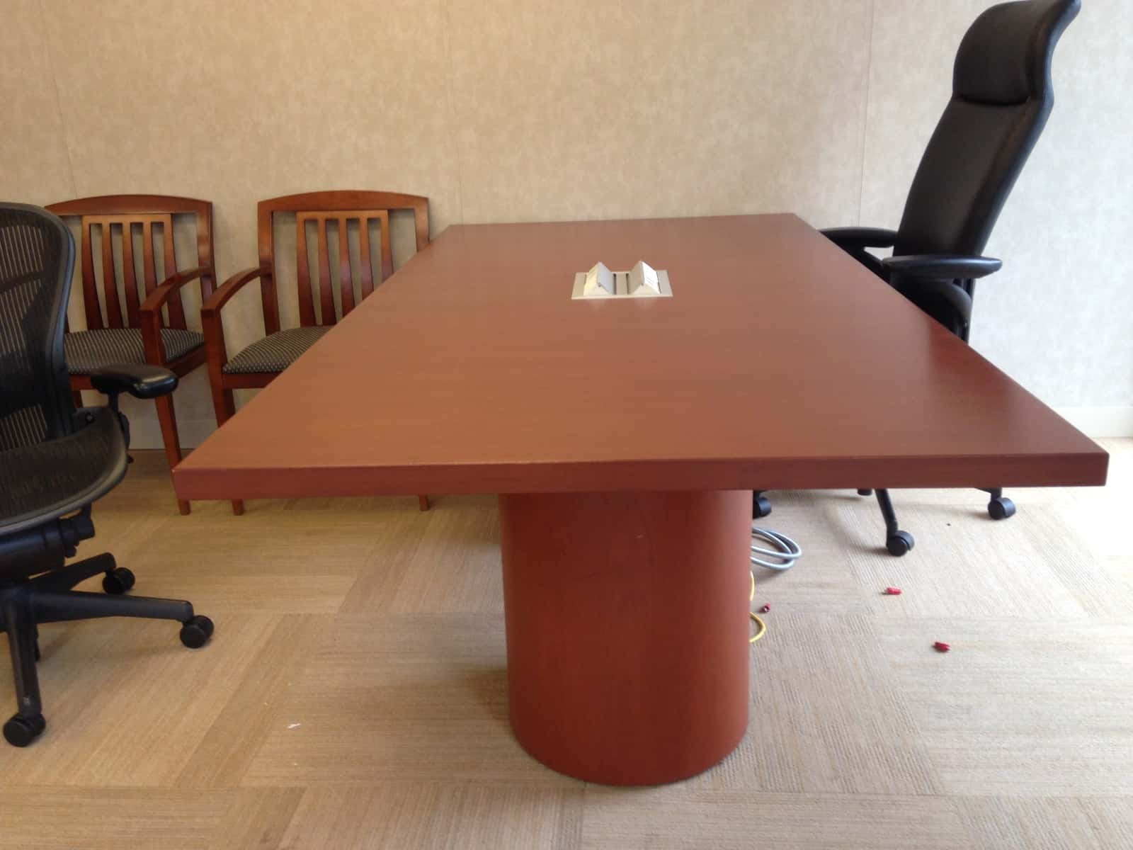 used conference table chairs accent arm room and break furniture tables