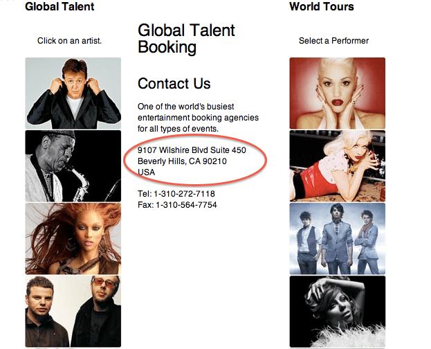 Top talent agent?