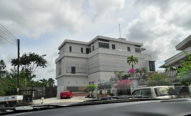 Jabu's grand town house