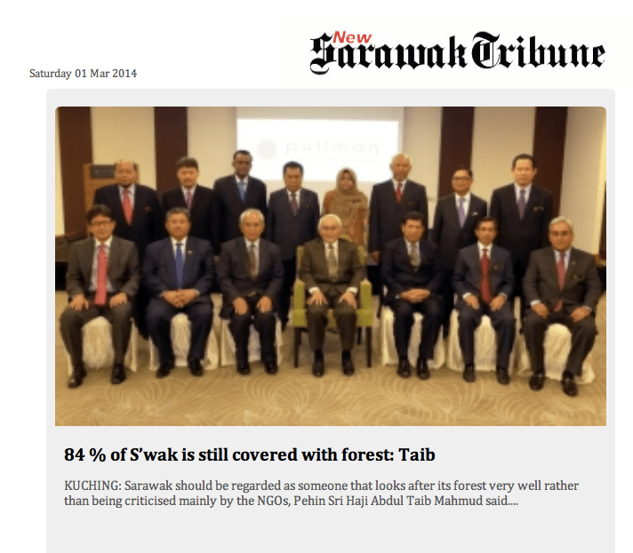 Owned by the Taibs and Edited by daughter Hanifah. Sarawak Tribune moves to support her father's insane claims, while it had prior knowledge about Sarawak Report's hacked gmails.