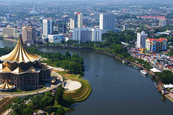 Kuching's modern 'jewels', commissioned and built by Taib and his companies at public expense.