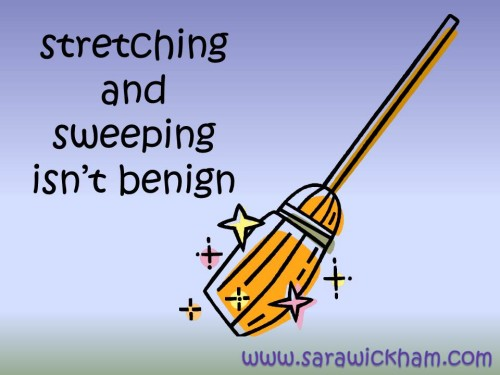 What is a stretch and sweep?