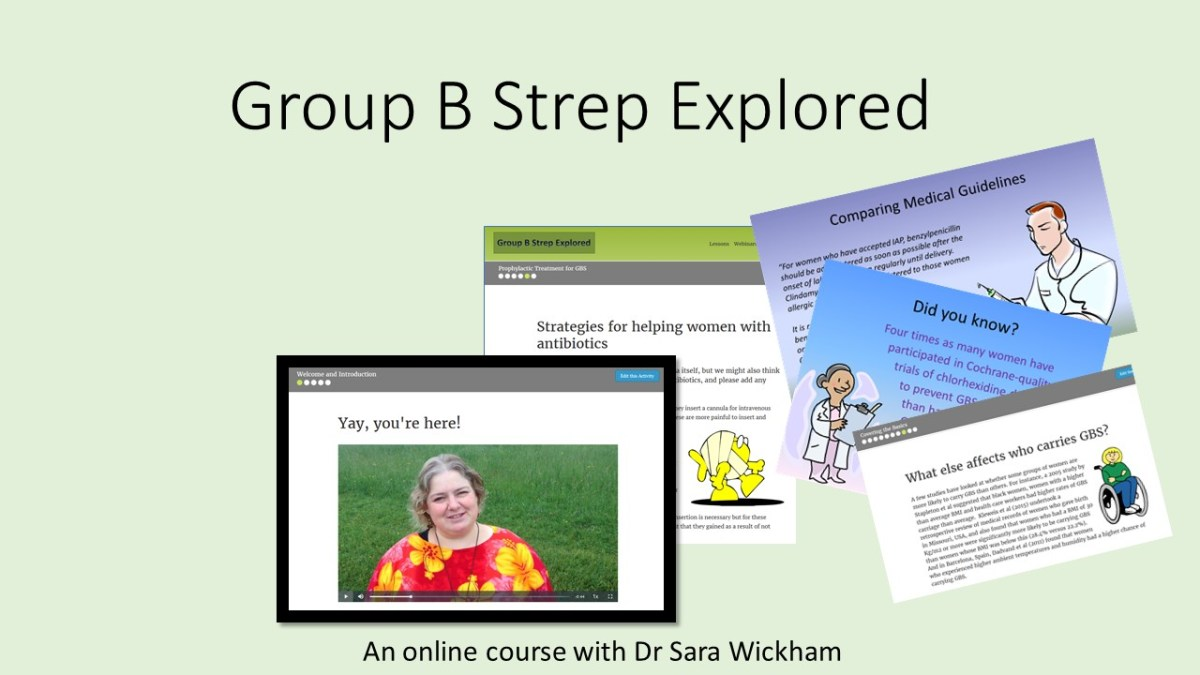 A new online course: Group B Strep Explored!