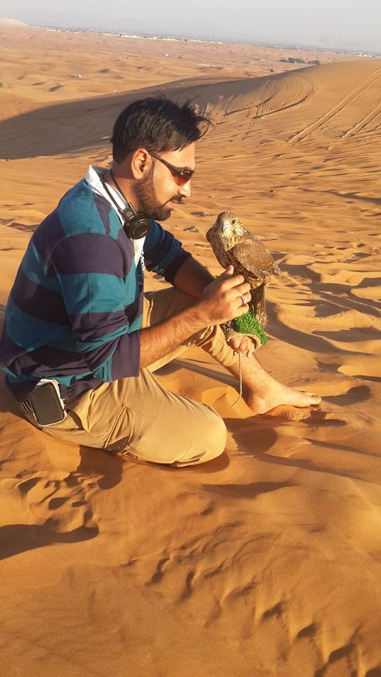 Desert of Dubai