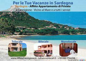 Affitto Appartamenti a Cannigione in Sardegna