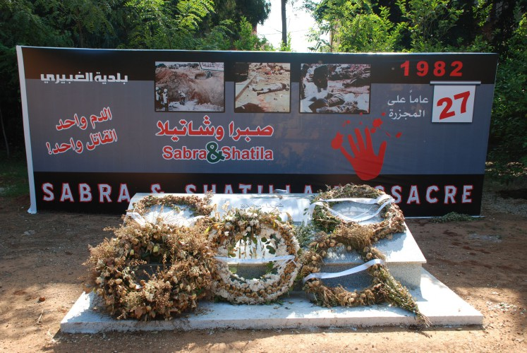 16 settembre del 1982. Il massacro