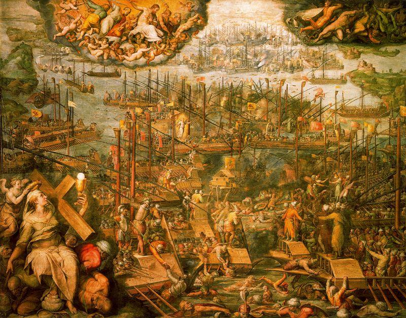 7 ottobre 1571, la Battaglia di Lepanto (di Francesco Giorgioni)