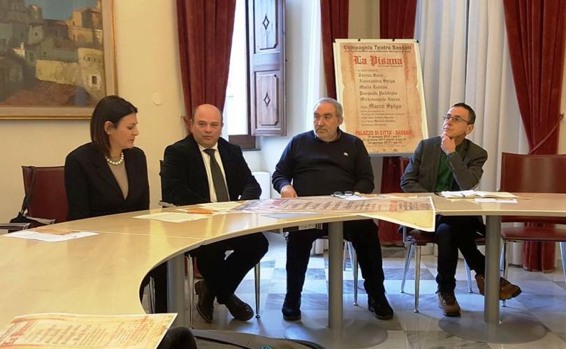 La Pisana, la nuova opera teatrale di Cosimo Filigheddu  (di Alba Rosa Galleri)