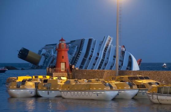 13 gennaio 2012, il naufragio della Costa Concordia (di Francesco Giorgioni)