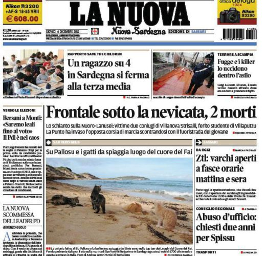Alba, screenshot e giornalisti (di Francesco Giorgioni)