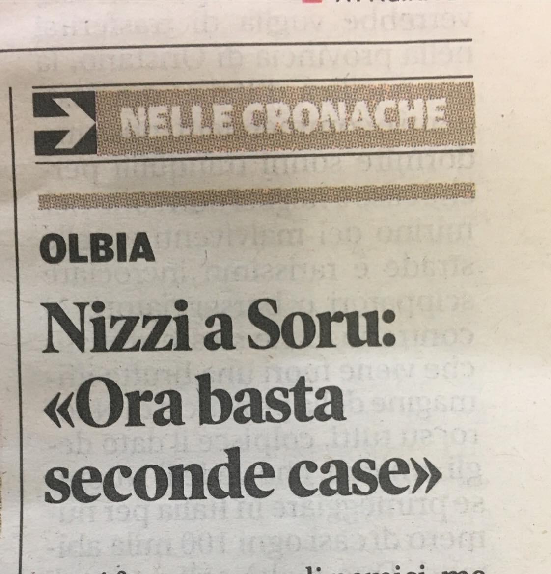 Nizzi, Soru e le seconde case (di Francesco Giorgioni)