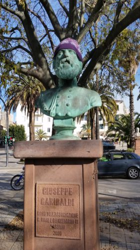 Personaggio del giorno: Garibaldi in cappillina (di Cosimo Filigheddu)