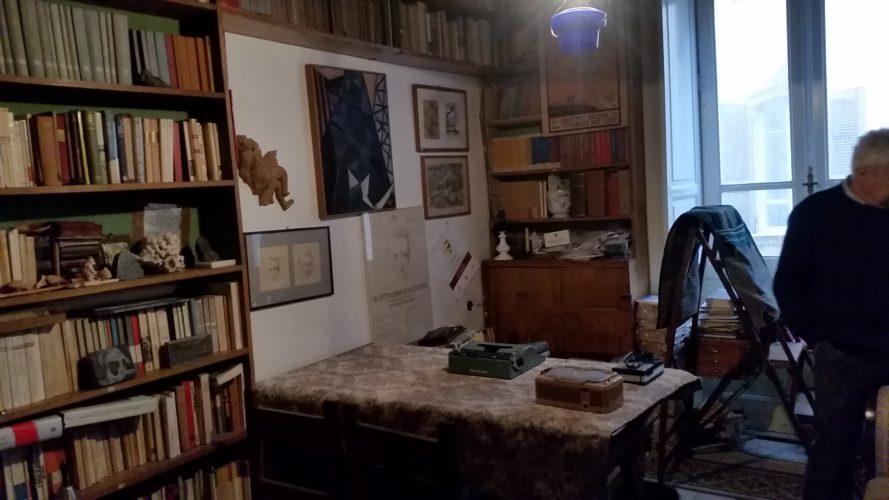 Mezz'ora nello studio di Antonio Pigliaru (di Cosimo Filigheddu)
