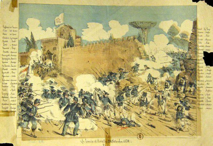 La presa di Roma (di Cosimo Filigheddu)