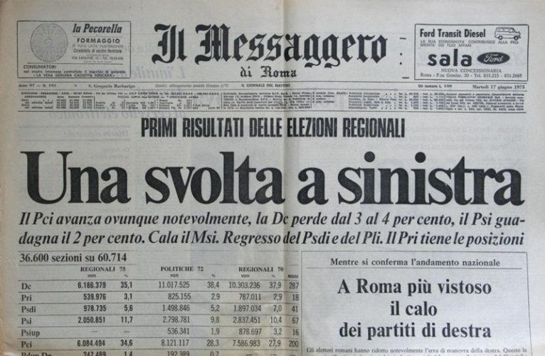 Però, che elezioni quelle del '75! (di Cosimo Filigheddu)