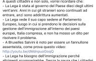 La Lega è il primo partito a volere gli immigrati (di Danilo Toninelli)