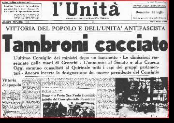 26 marzo 1960, il breve governo Tambroni (di Francesco Giorgioni)