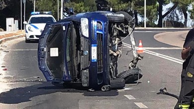 Photo of Rocambolesco incidente stradale ad Alghero