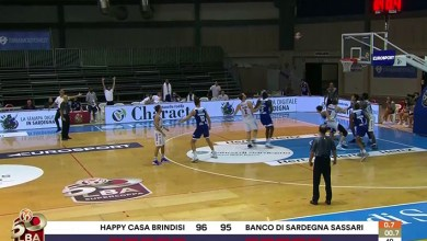 Photo of La Dinamo Banco di Sardegna cede nel finale alla New Basket Brindisi