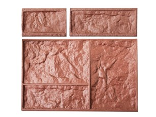 Stampo pietre squadrate