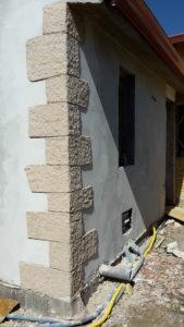 rivestimento in finta pietra angoli muro case