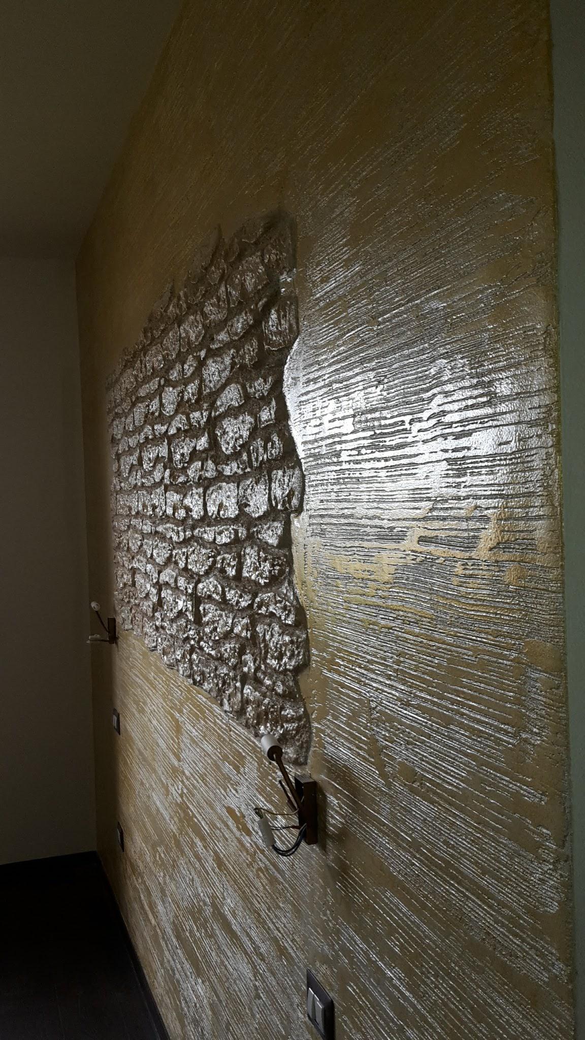 Muro Fatto In Pietra parete in pietra zen oristano