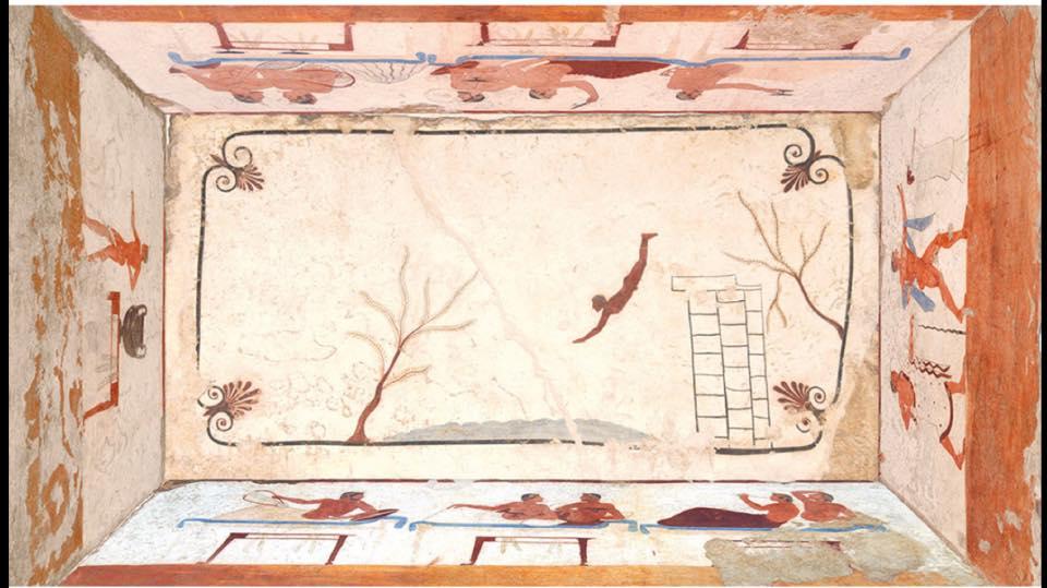 Paestum il tuffatore  via di Camilla Tagliabue  Sardegna Soprattutto
