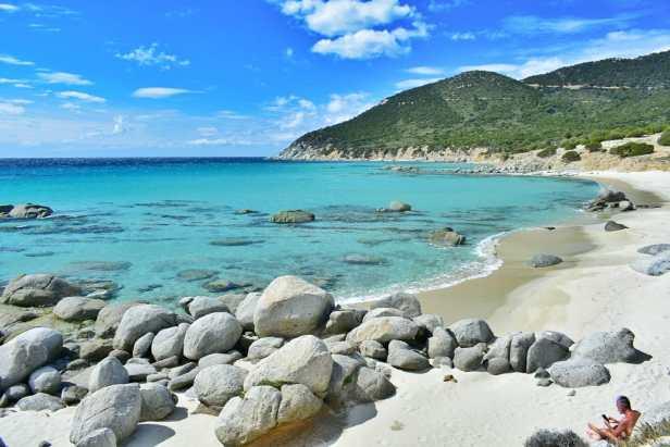spiaggia porto sa ruxi