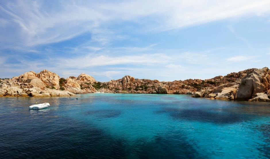 Praias mais bonitas da Sardenha, Itália.