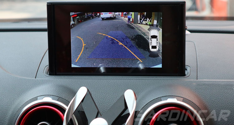 CarPlay Android Auto Mirrorlink video interface for Audi A1