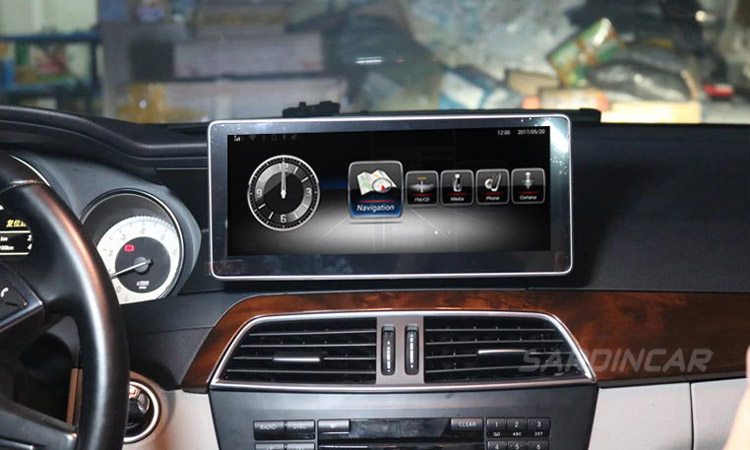 Mercedes Benz Android In-Car Multimedia GPS Navigation Systems