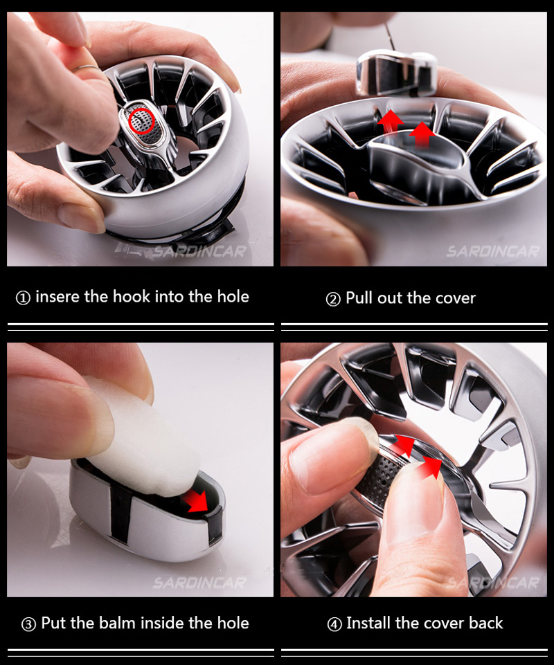 Mercedes Benz C E GLC Turbo Outlet Fragrance System Aircraft Design
