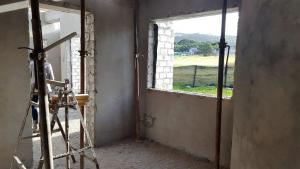 Inside view of a Sardinia Bay Estate home being built.