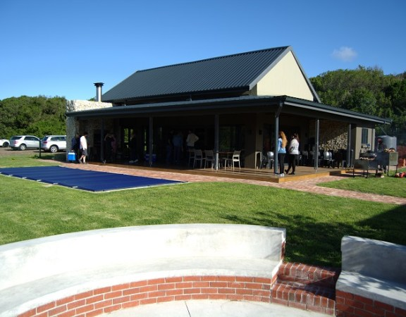 The recreation centre at the Sardinia Bay Golf & Wildlife Estate