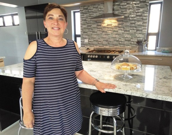 Carla Bibby (pictured) and husband Ray found everything they needed and more at Sardinia Bay Golf & Wildlife Estate