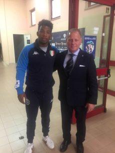 Vincenzo Piroddu con Frank Chamizo