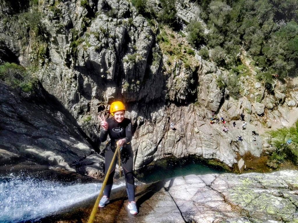 piscia irgas, high waterfall sardinia, vertical experience in sardinia, how to do sardinia