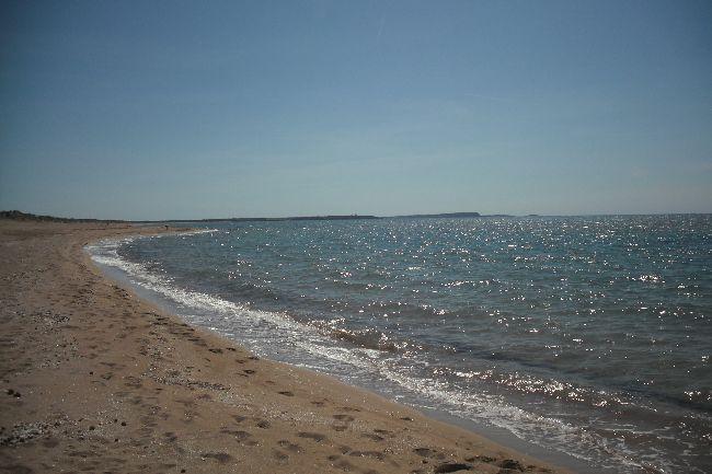 Strand von Is Arenas  Ferienhaus auf Sardinien direkt am Meer