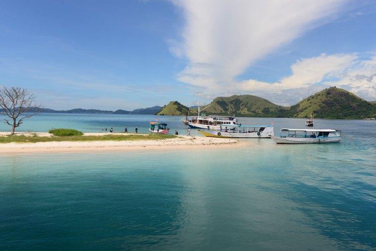 Kelor Island auf Indonesien