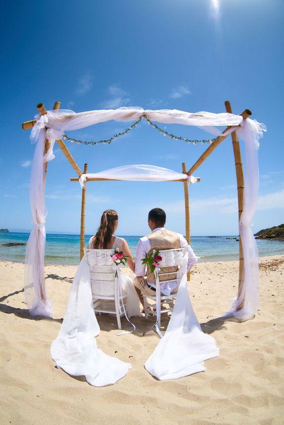 Hochzeitslocation Spiaggia di Nora in Pula