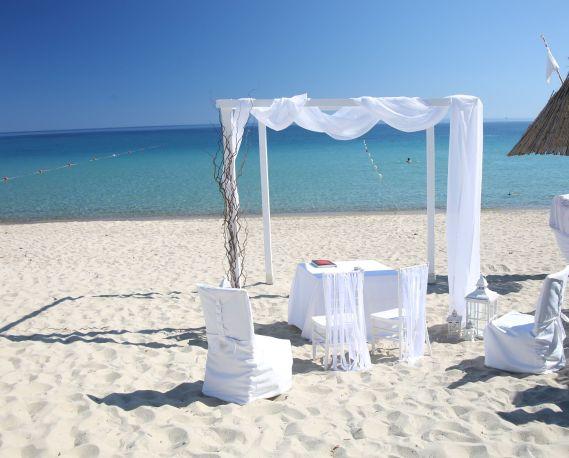 Hochzeitslocation Strand von Campus Villasimius