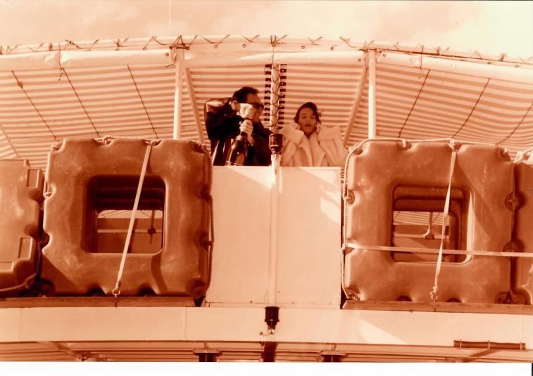 Ausflugsboot im Hafen von Cagliari