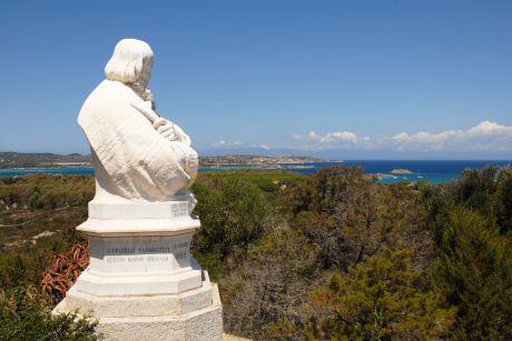 Giuseppe Garibaldi Büste auf Caprera