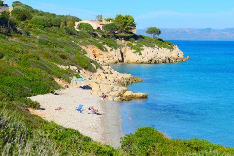 Spiaggia di Portixeddu auf Sant'Antioco