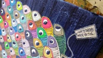"""""""Color My Dreams Under The Sea""""-Sardine of Marseille"""