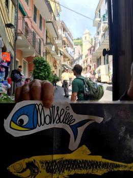 Sardine of Marseille à Manarola, Italy