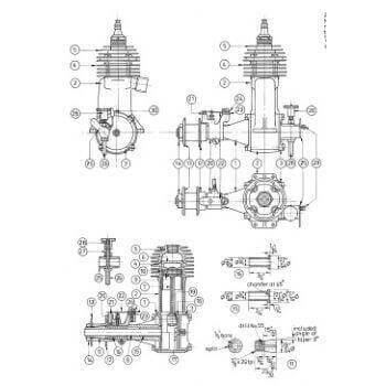 Bestseller: 2 Stroke Engine Plans